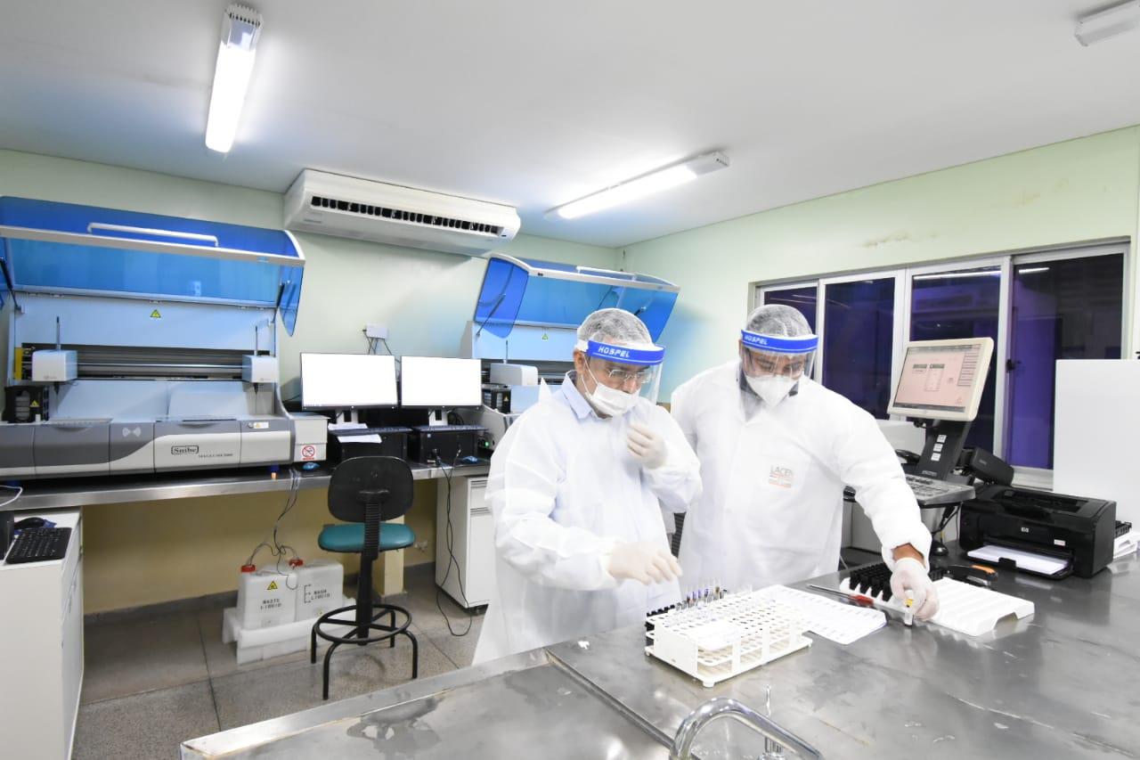 Lacen registra aumento no número de testes para a Covid-19  - Imagem 1
