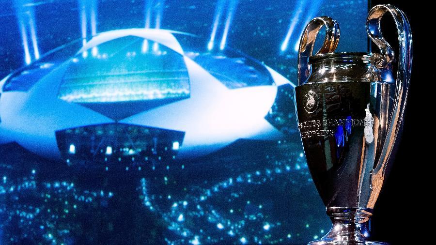 Taça da liga dos Campeões da Europa-Foto Getty Images