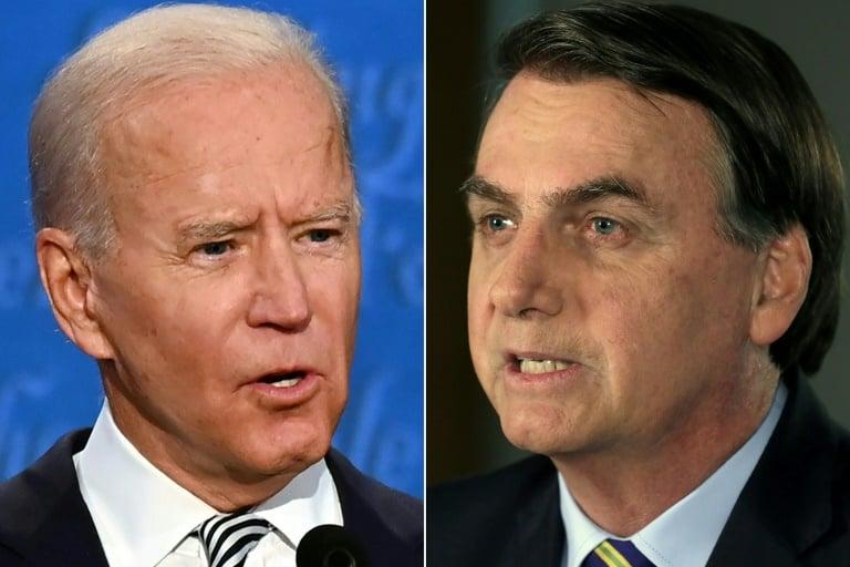 Bolsonaro reconhece vitória de Joe Biden