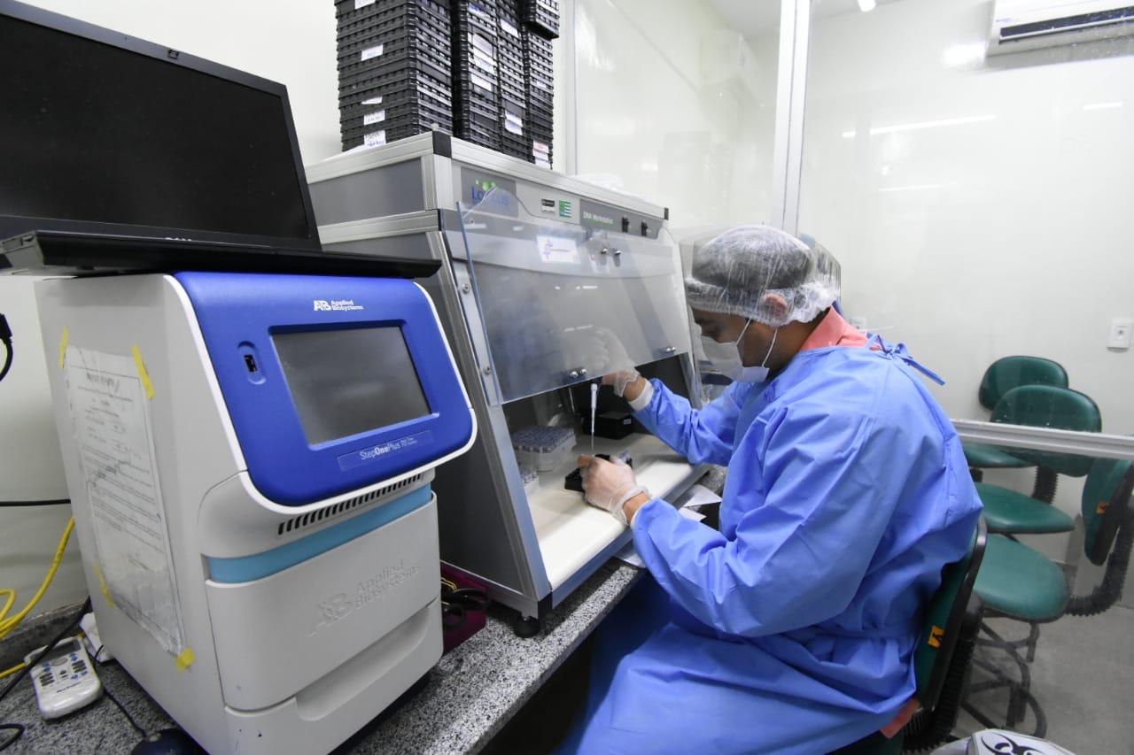 Lacen registra aumento no número de testes para a Covid-19  - Imagem 2