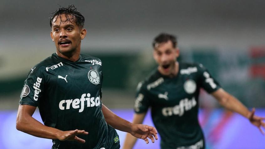 Gustavo Scarpa abriu o caminho para a vitória -Foto: Cesar Greco Palmeiras