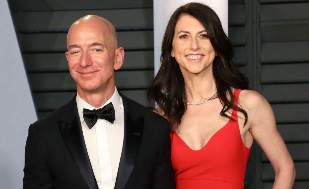 MacKenzie Scott e Jeff Bezos se separaram em 2019