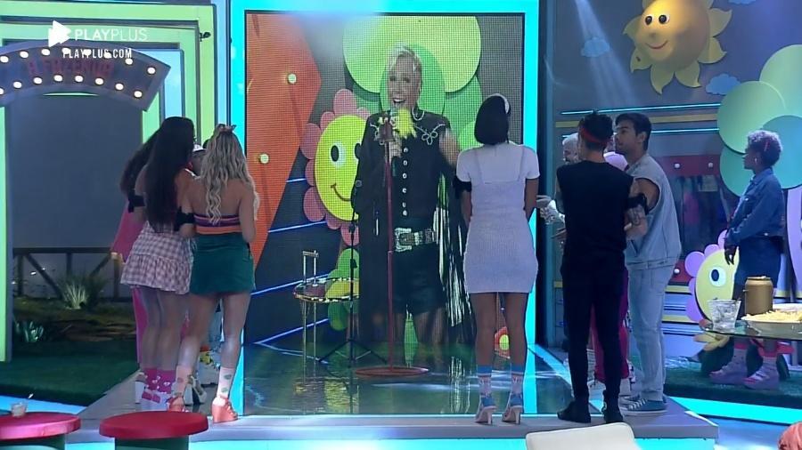A Fazenda 2020: Xuxa brinca com peões em festa #Tbt - Imagem: Reprodução/Playplus