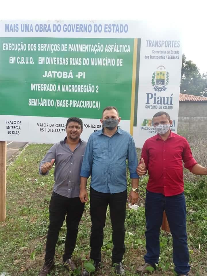 Governador Wellington Dias e equipe do governo visitam Jatobá do Piauí e entregam obras relevantes no município. - Imagem 3