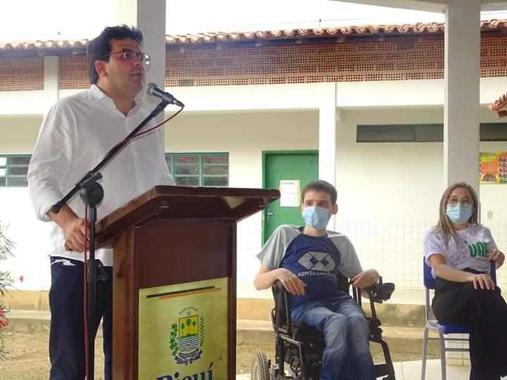 Governador Wellington Dias e equipe do governo visitam Jatobá do Piauí e entregam obras relevantes no município. - Imagem 7