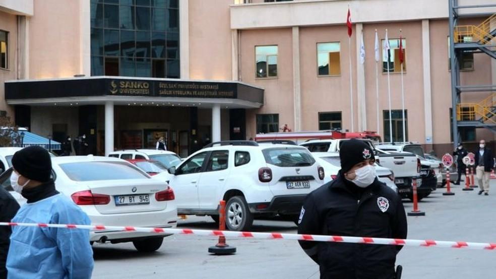 Nove pessoas morreram quando aparelho explodiu — Foto: Getty Images via BBC