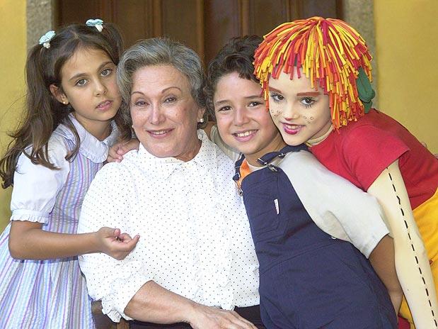Nicette Bruno como Dona Benta em Sítio do Pica-Pau AmareloNicette Bruno como Dona Benta em Sítio do Pica-Pau Amarelo
