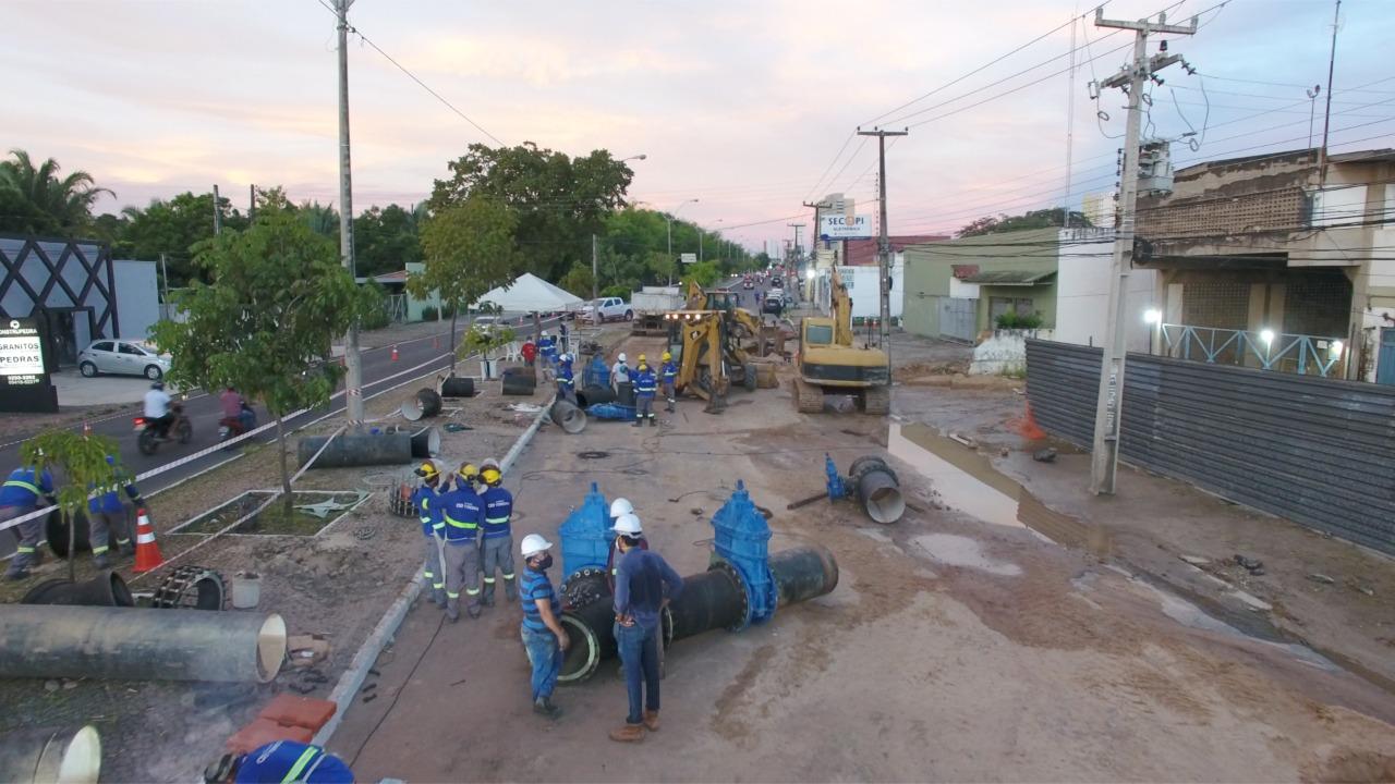 Ampliação e modernização dos sistemas de água e esgoto contarão com mais de R$ 100 milhões em 2021