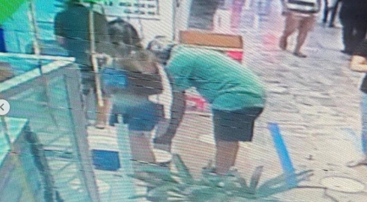 Polícia procura suspeito de importunar sexualmente jovem em lotérica  - Imagem 1