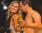 Andressa Urach e marido estrelam ensaio íntimo na noite de núpcias