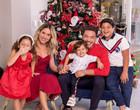 Thyane rebate crítica por repetir roupa em filho com Wesley Safadão