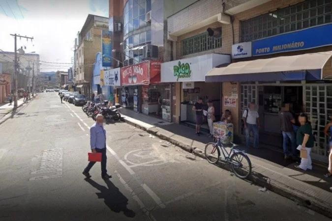 Imagem da loteria onde o apostador deixu de ganhar milhões- Google Maps