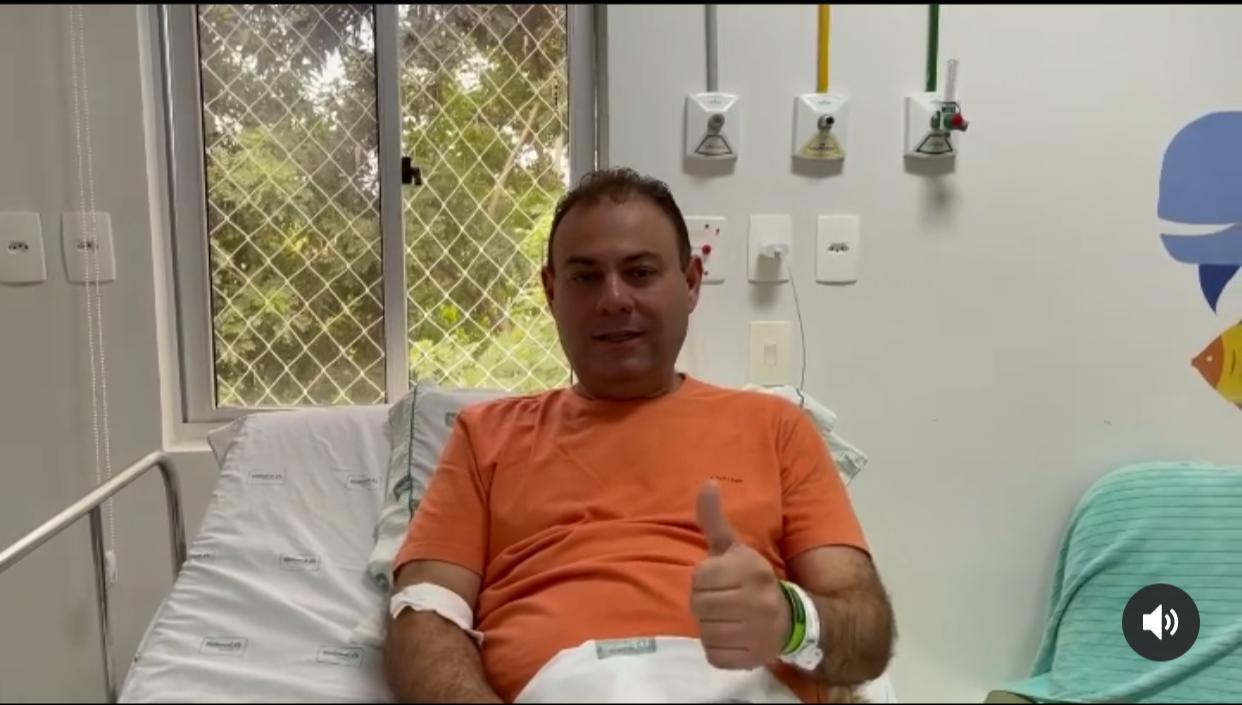 Com Covid-19, vereador Jeová Alencar volta a ser internado em hospital - Imagem 1