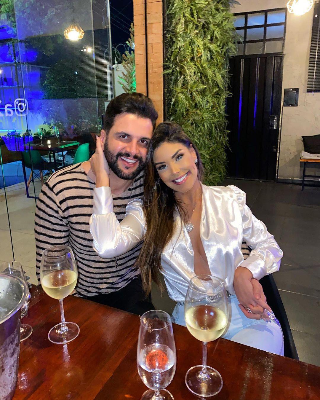 Ivy e Rogério cancelaram o casamento que estava marcado para o dia 10