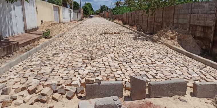 Governo realiza obras de mobilidade urbana no Território dos Cocais