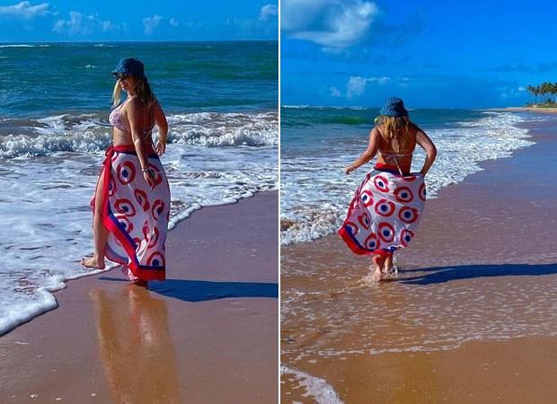 Marília Mendonça curte mar em viagem (Foto: Reprodução/Instagram)