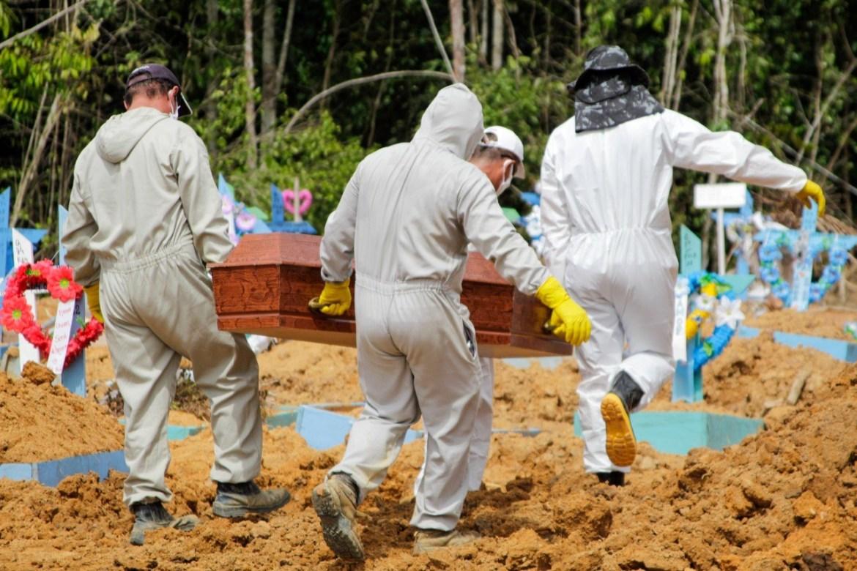 Brasil registra 664 novas mortes em 24 horas (Reprodução/ Jornal Todo Dia)