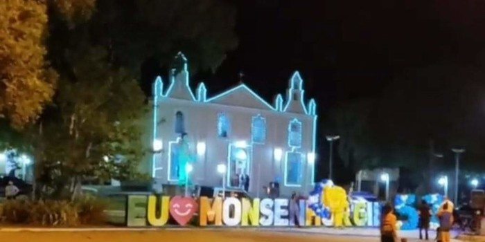 Parabéns pra você nesta data querida. 57 anos de emancipação política de Monsenhor Gil