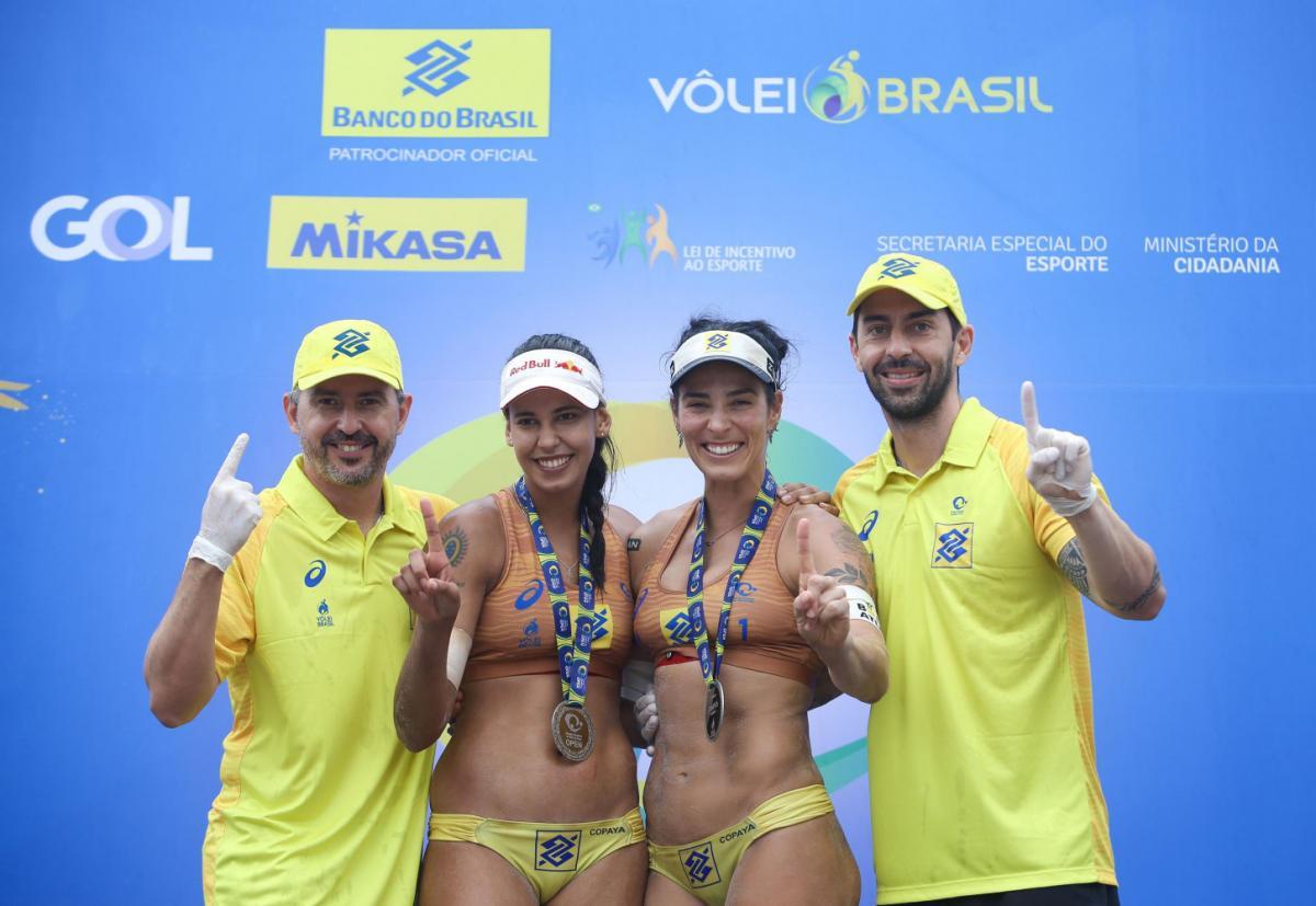 Ágatha e Duda lideram o ranking nacional de vôlei de praia - Imagem 1