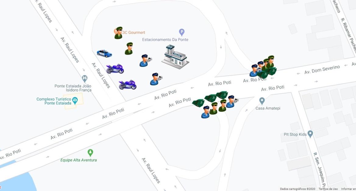 Mapa do Corso 2 (Ascom)