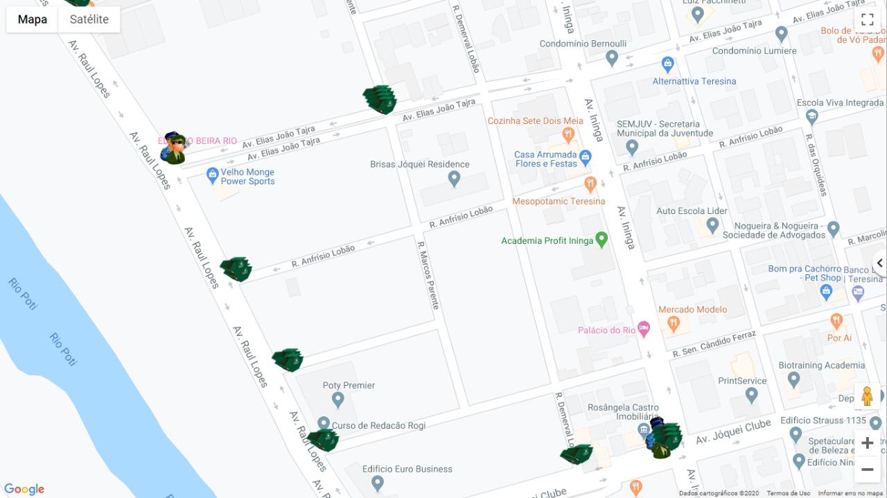 Mapa do Corso 1 (Ascom)