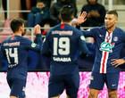 PSG atropela na Copa da França com dois de Mbappé e vai às semis