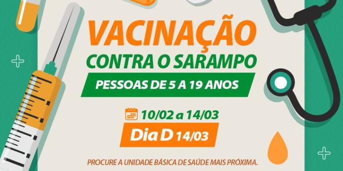 Água Branca inicia campanha de vacinação contra o sarampo