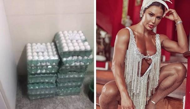 'Não enjoo', garante Gracyanne sobre dieta com até 40 ovos por dia - Imagem 3