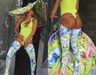 Anitta ousa em figurino para gravar novo clipe no Pelourinho; fotos