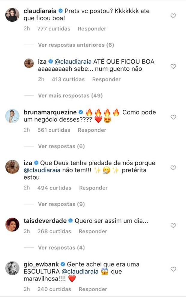 Claudia Raia posa completamente nua e ganha elogios de famosas; veja - Imagem 2