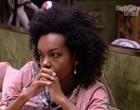 BBB20: Thelma chora de fome e fãs exigem atitude de Boninho; vídeo