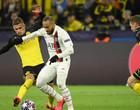 Com 2 gols de Haland, Borussia vence o PSG pela Liga dos Campeões