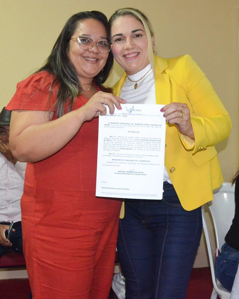 Prefeitura de Joaquim Pires realiza solenidade de posse de aprovados/classificados no último concurso público  - Imagem 79