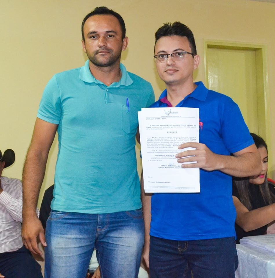 Prefeitura de Joaquim Pires realiza solenidade de posse de aprovados/classificados no último concurso público  - Imagem 71