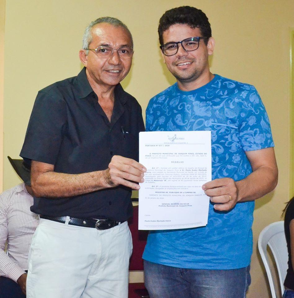 Prefeitura de Joaquim Pires realiza solenidade de posse de aprovados/classificados no último concurso público  - Imagem 84