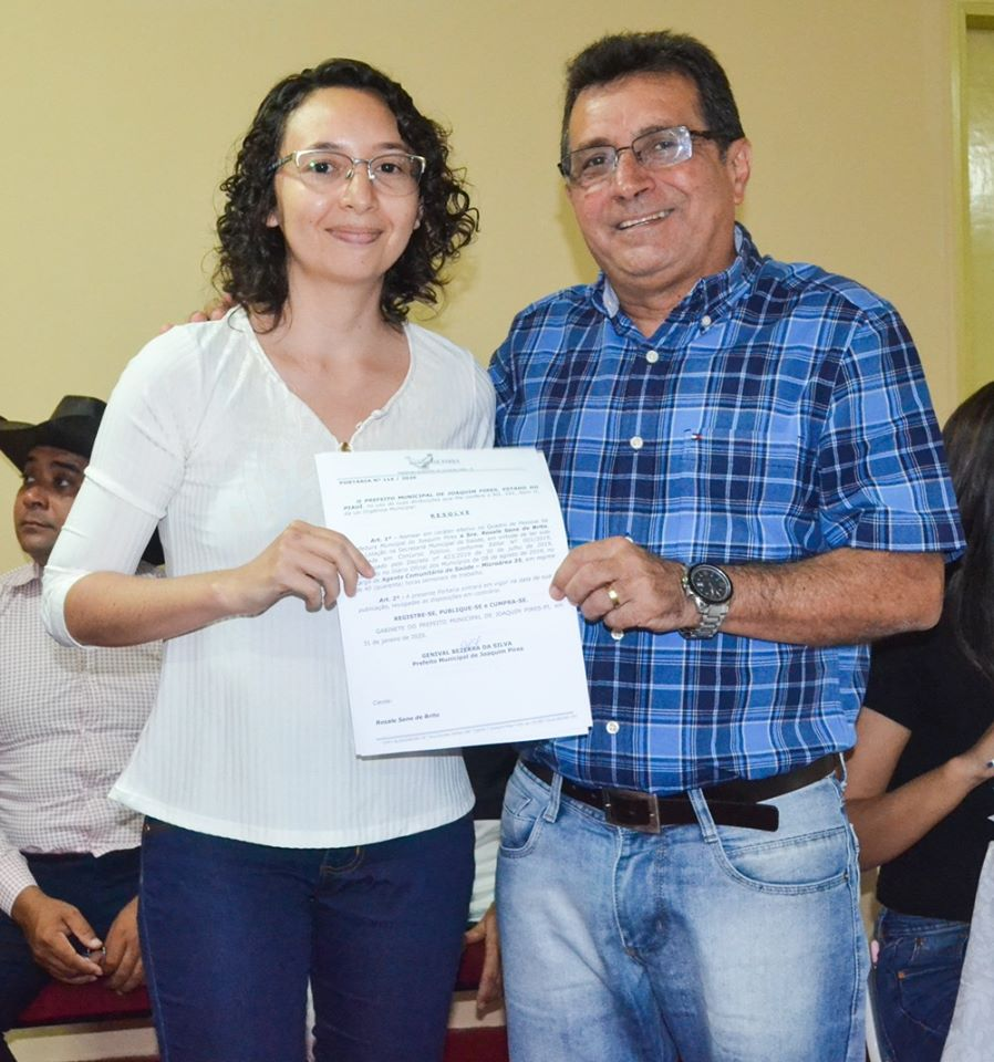 Prefeitura de Joaquim Pires realiza solenidade de posse de aprovados/classificados no último concurso público  - Imagem 83