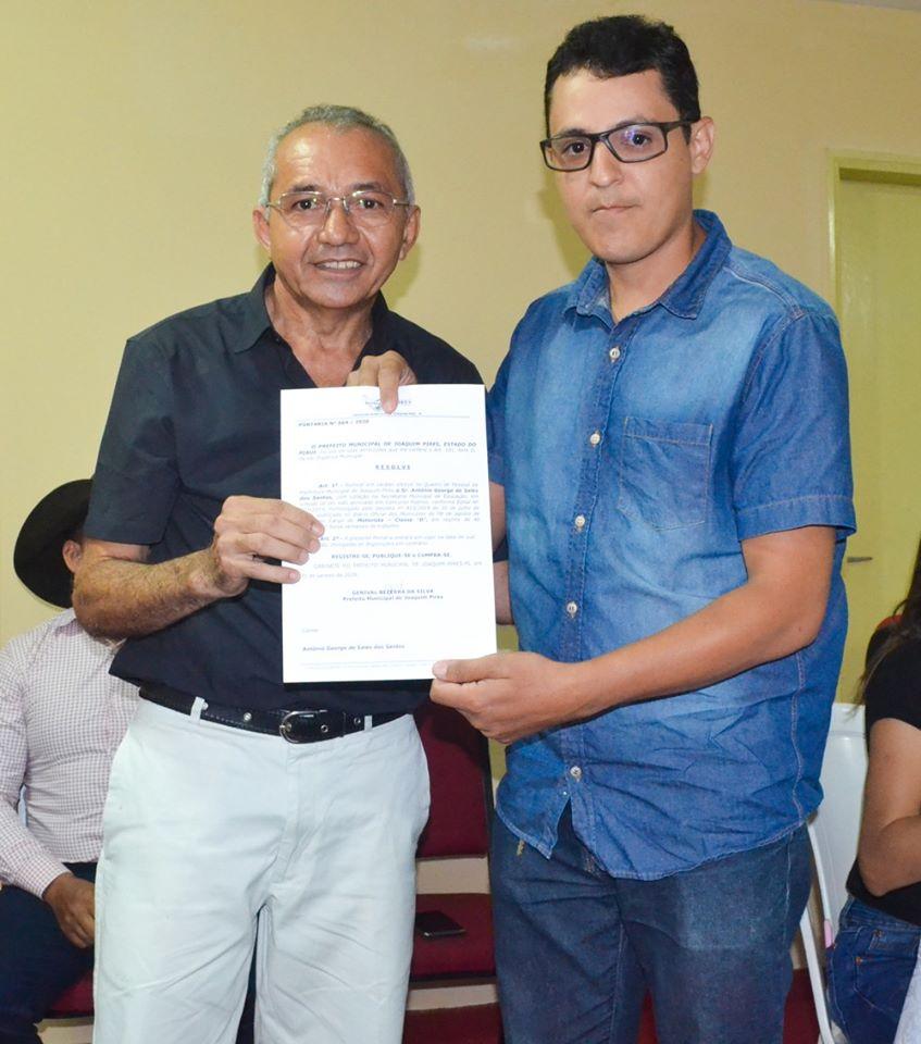 Prefeitura de Joaquim Pires realiza solenidade de posse de aprovados/classificados no último concurso público  - Imagem 69