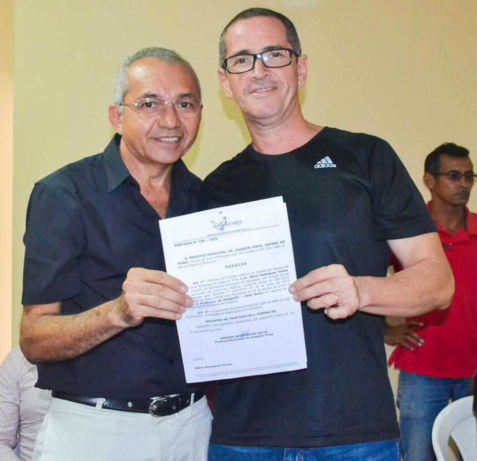 Prefeitura de Joaquim Pires realiza solenidade de posse de aprovados/classificados no último concurso público  - Imagem 44