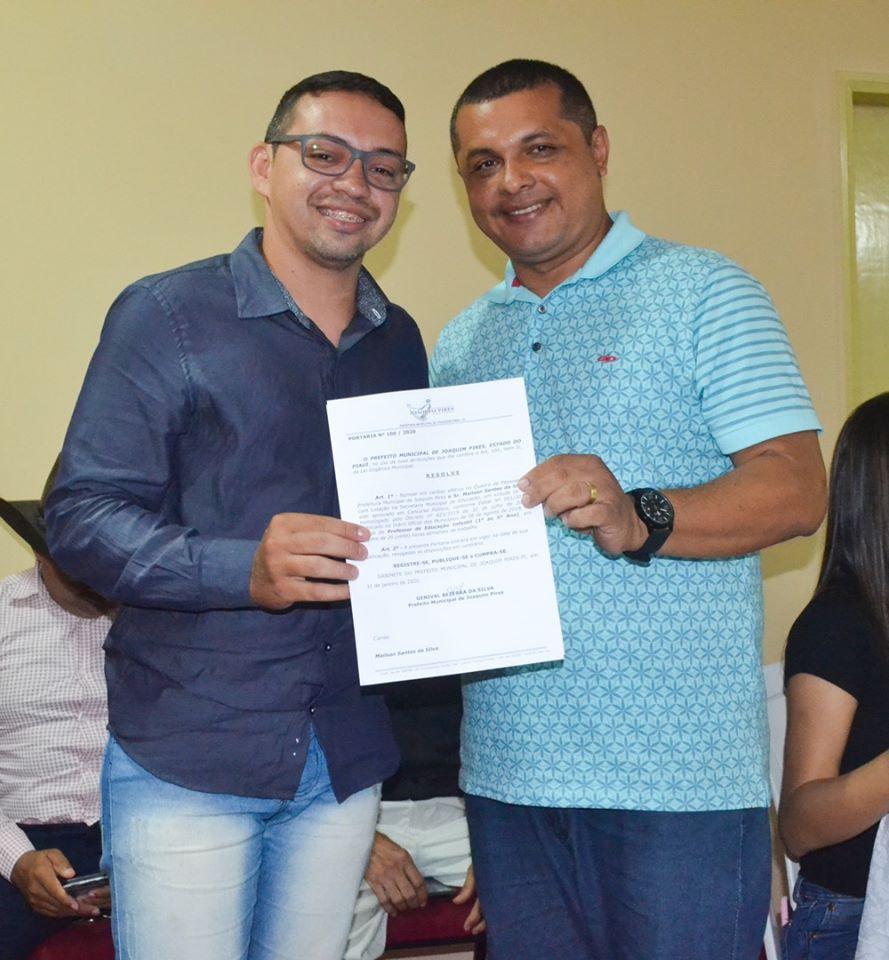 Prefeitura de Joaquim Pires realiza solenidade de posse de aprovados/classificados no último concurso público  - Imagem 38