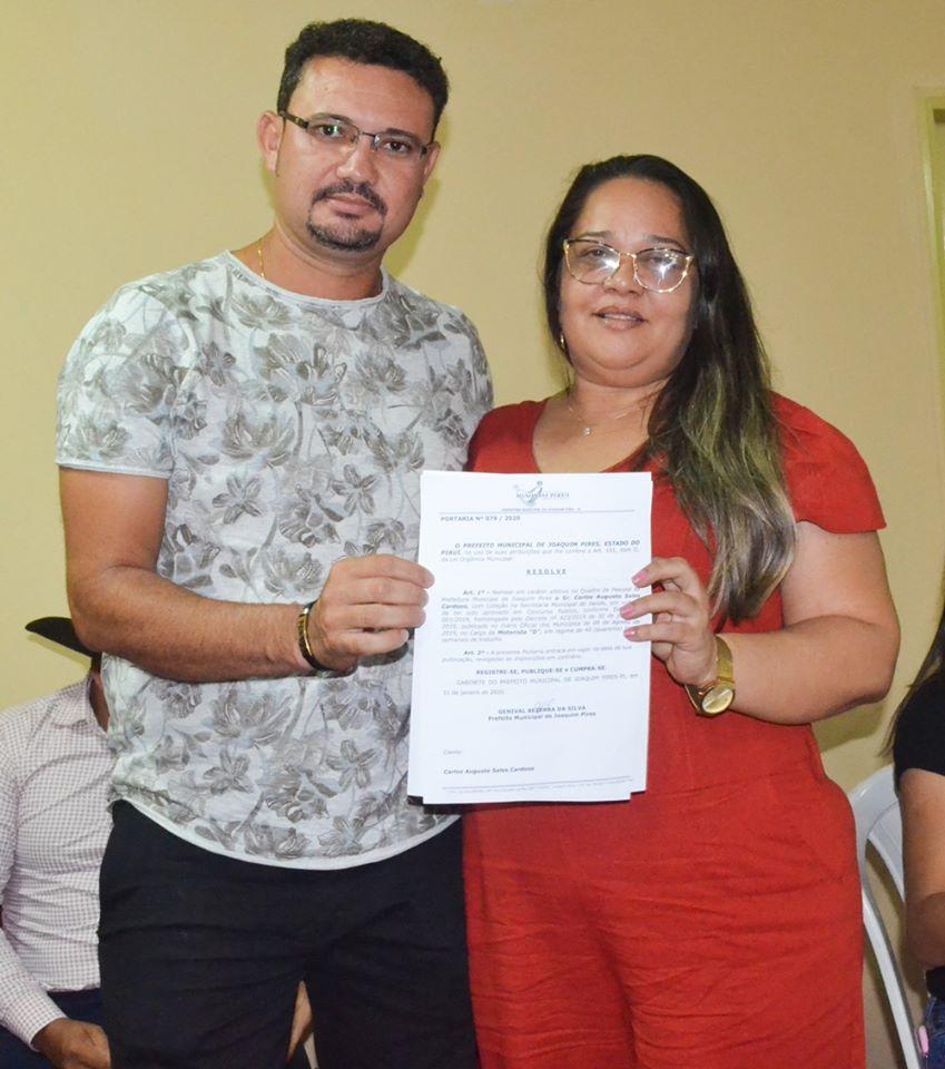 Prefeitura de Joaquim Pires realiza solenidade de posse de aprovados/classificados no último concurso público  - Imagem 19