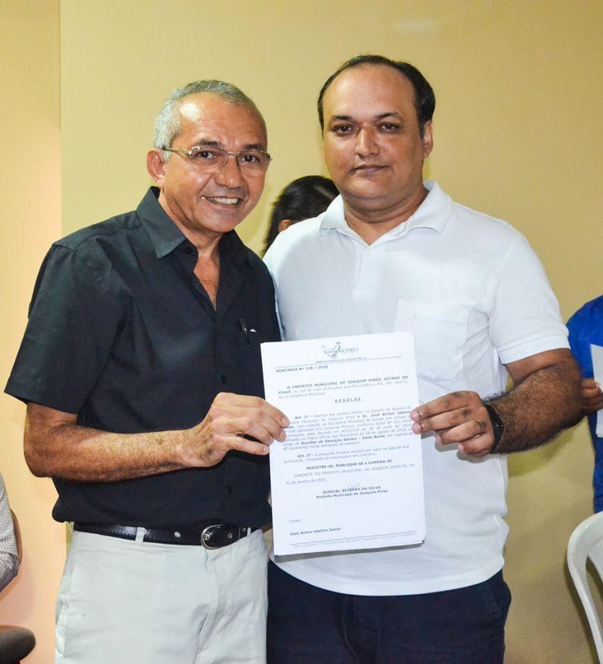 Prefeitura de Joaquim Pires realiza solenidade de posse de aprovados/classificados no último concurso público  - Imagem 15