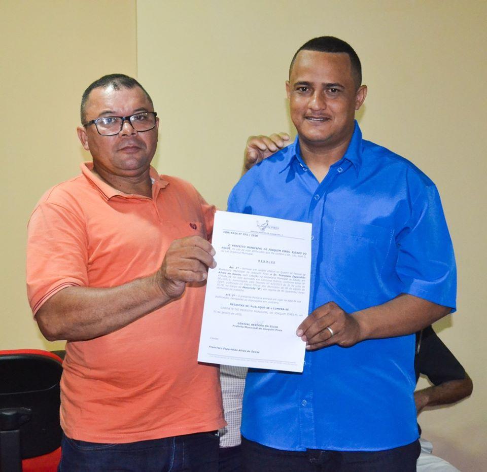 Prefeitura de Joaquim Pires realiza solenidade de posse de aprovados/classificados no último concurso público  - Imagem 61