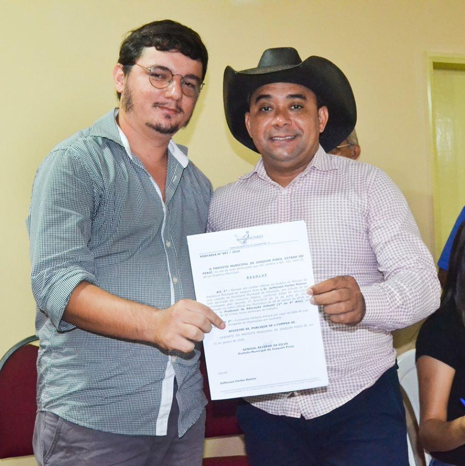 Prefeitura de Joaquim Pires realiza solenidade de posse de aprovados/classificados no último concurso público  - Imagem 70