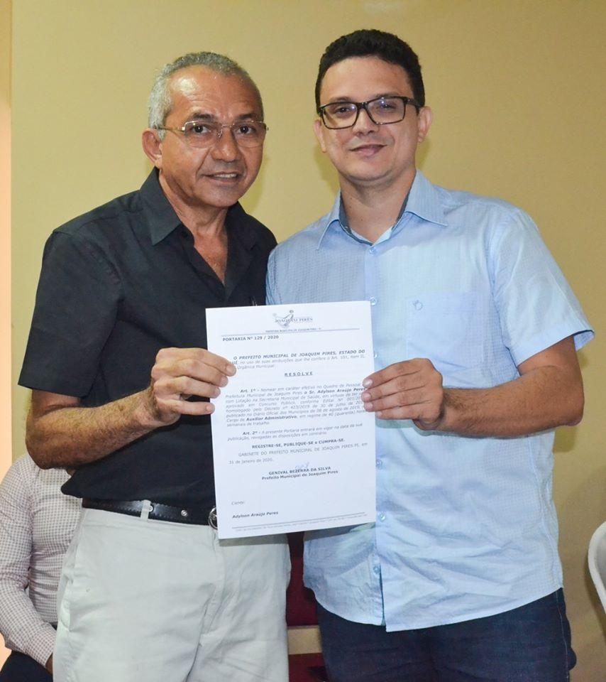 Prefeitura de Joaquim Pires realiza solenidade de posse de aprovados/classificados no último concurso público  - Imagem 73