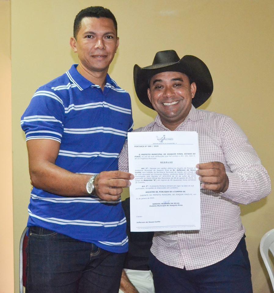 Prefeitura de Joaquim Pires realiza solenidade de posse de aprovados/classificados no último concurso público  - Imagem 72