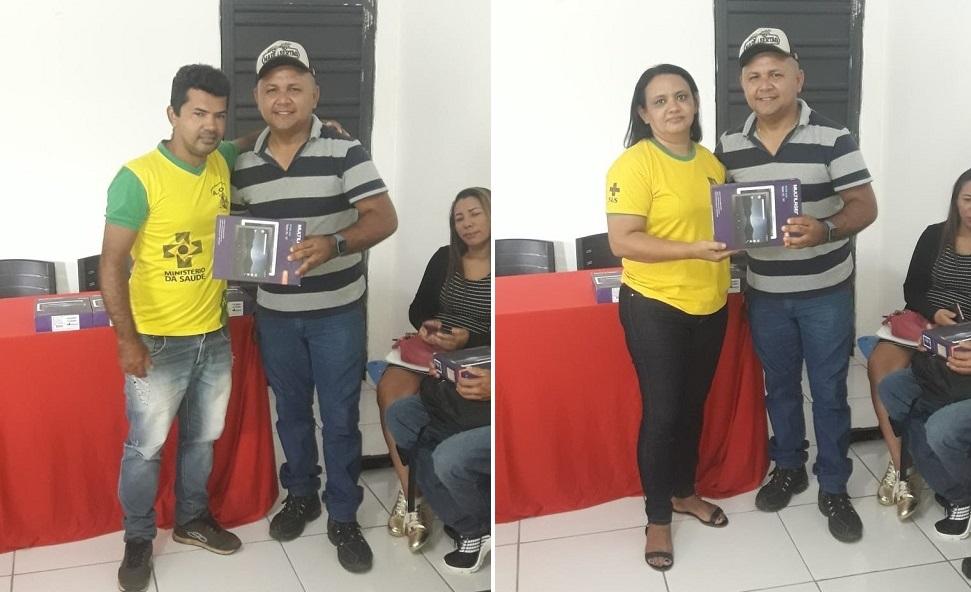 Prefeitura de Jardim do Mulato faz treinamento e entrega de tablets para os Agentes Comunitários de Saúde - Imagem 1