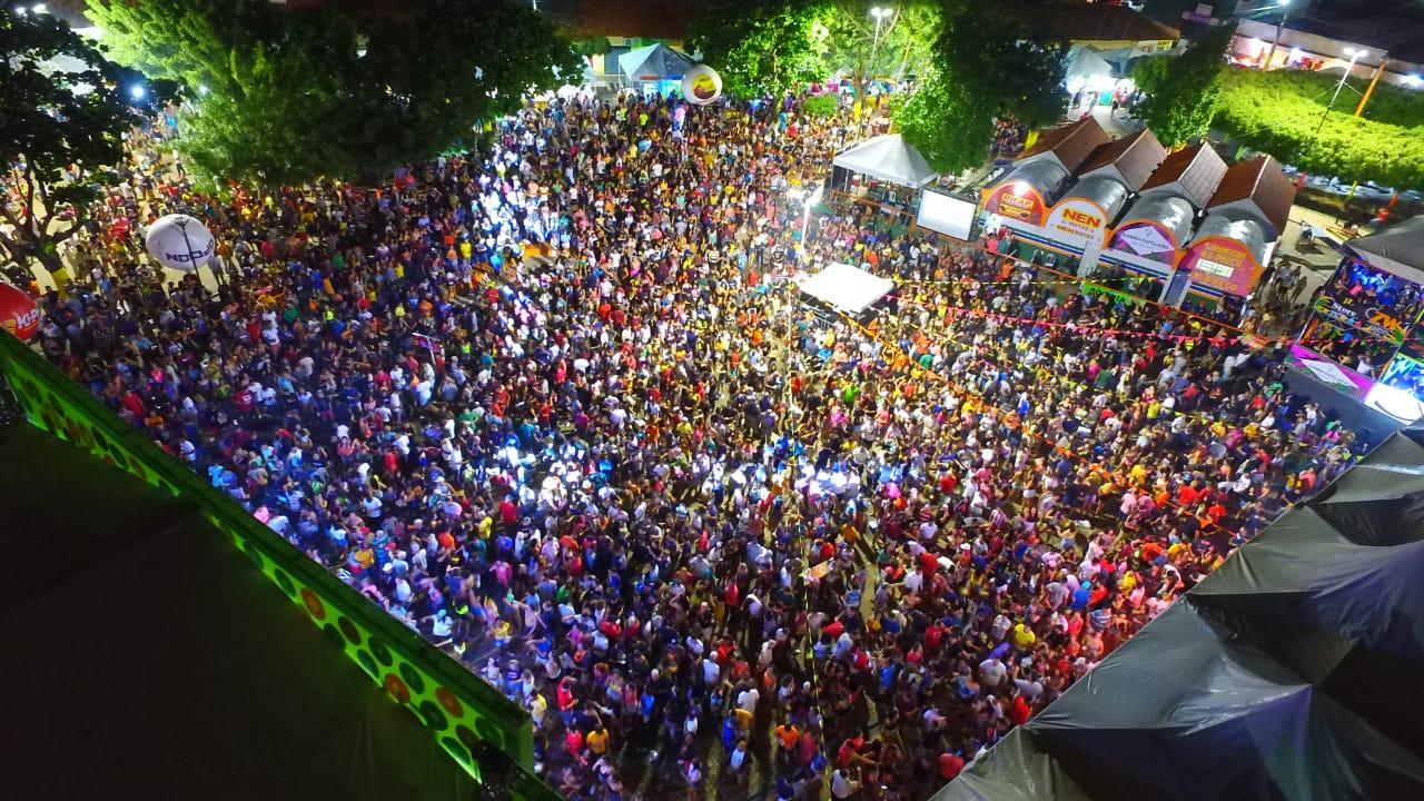 Grande Público marca o segundo dia de Carnaval em Água Branca - Imagem 1