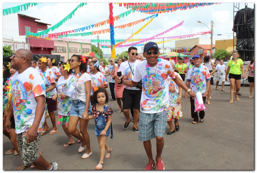 Prefeitura de Inhuma realiza carnaval dos Idosos - Imagem 24