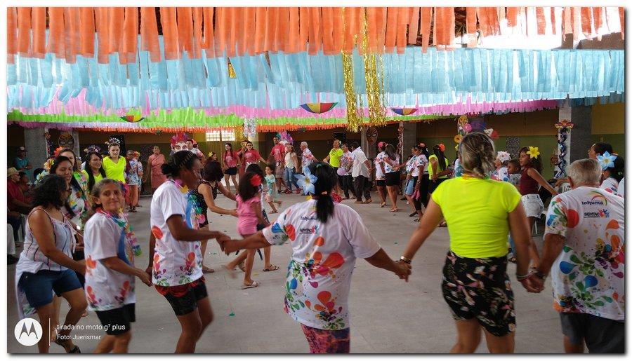 Prefeitura de Inhuma realiza carnaval dos Idosos - Imagem 10