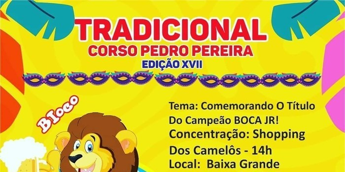 Prefeito João Luiz apoia carnaval na sede do município e zona rural. Pedro Pereira 2020